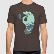 T-shirt featuring Blue Feather Tattoo by Evannave