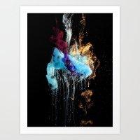 Creation - part 2 Art Print