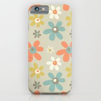 iPhone & iPod Case featuring flowers pattern by Berreca