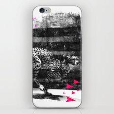 speed runner iPhone & iPod Skin