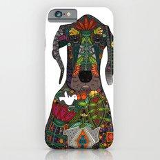 Great Dane love white Slim Case iPhone 6s
