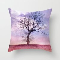 ATMOSPHERIC TREE | Early… Throw Pillow