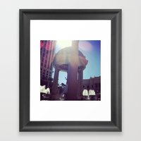 Caesar, Your Palace Is L… Framed Art Print
