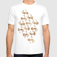 People Mens Fitted Tee White SMALL