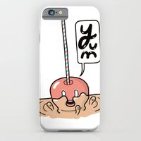 iPhone & iPod Case featuring Friends Go Better Together 2/7 - Apple and Caramel by Steven Preisman