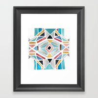 Geo Life Framed Art Print