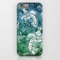 Sea Turtles Mate iPhone 6 Slim Case