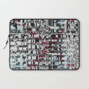 Part Wash (P/D3 Glitch Collage Studies) Laptop Sleeve