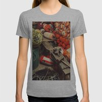 Buoy Factory Womens Fitted Tee Athletic Grey SMALL