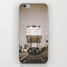 Urban train car iPhone & iPod Skin