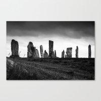 Callanish Stones Canvas Print