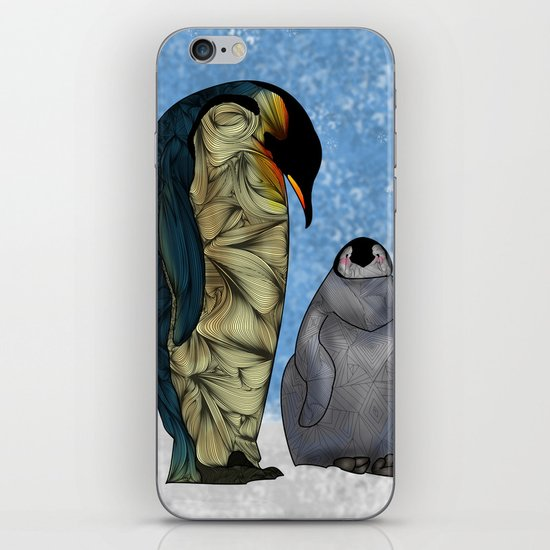 Emperor Penguins iPhone & iPod Skin