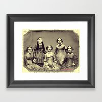Mad Bitches Framed Art Print