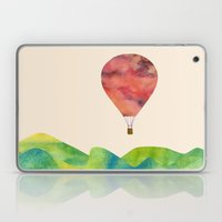Sunset balloon Laptop & iPad Skin