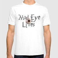 Mad Eye Lives! Mens Fitted Tee White SMALL