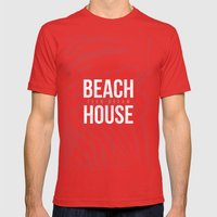 Teen Dream - Beach House Mens Fitted Tee Red SMALL