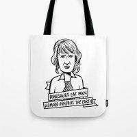 Ellie Sattler Tote Bag