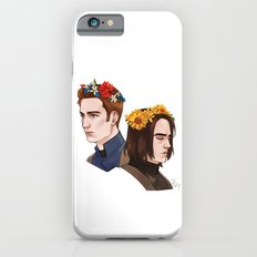 CATWS Steve and Bucky Floral Crowns iPhone 6 Slim Case