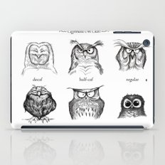 Caffeinated Owls iPad Case