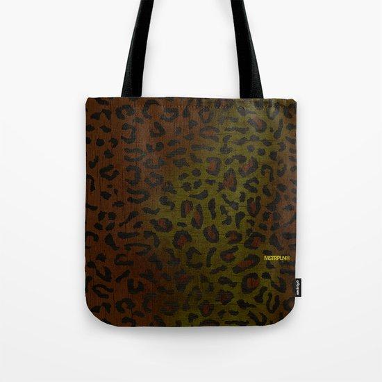 Modern Woodgrain Camouflage / Zaire KDP Print Tote Bag