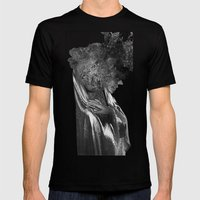 THE END OF ALL THINGS Mens Fitted Tee Black SMALL