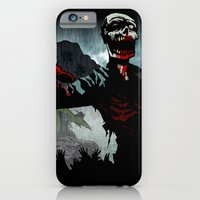 iPhone & iPod Case featuring A Cold Welcome by BinaryGod.com