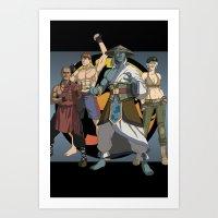 Mortal Kombat: Warriors … Art Print