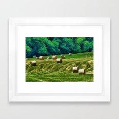 Harvest Time Framed Art Print