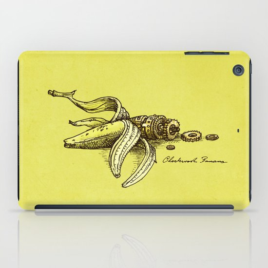 Clockwork Banana iPad Case