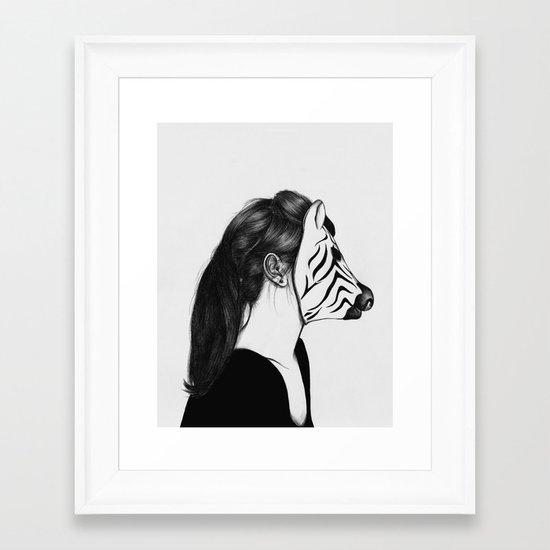 Peculiar II Framed Art Print