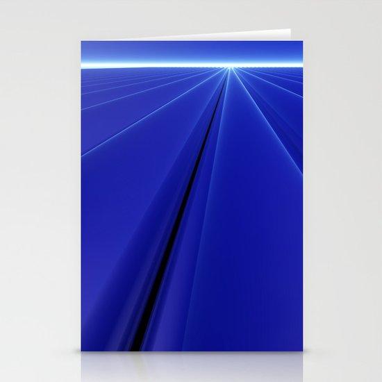 Blue Dawn Stationery Card