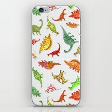 Dinosaur Party Pattern iPhone & iPod Skin