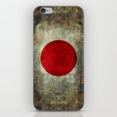 The national flag of Japan iPhone & iPod Skin