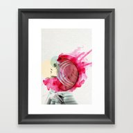 Bright Pink  Framed Art Print