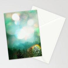 Bokeh Borealis II Stationery Cards