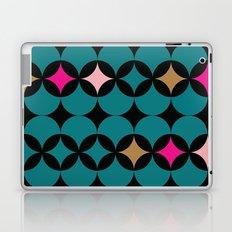 Geometric Blue Laptop & iPad Skin
