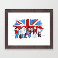 Les Petits Great Britain Framed Art Print