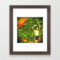Naturally. Framed Art Print