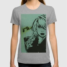 Zombies Kill Womens Fitted Tee Athletic Grey SMALL
