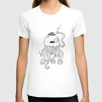 Be A Jellymen Womens Fitted Tee White SMALL