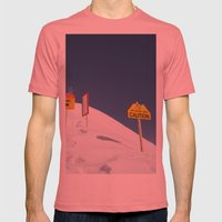 Signs Of Danger Mens Fitted Tee Pomegranate SMALL