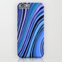 Mineralicious~Blue Agate iPhone 6 Slim Case