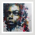 Strange fruit ( Nina Simone ) Art Print