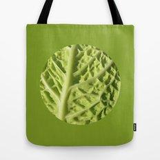 green savoy cabbage II Tote Bag