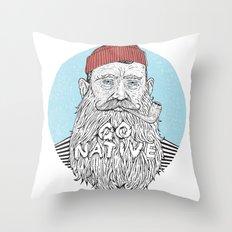 Sailor Throw Pillow