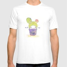 the secret wish of a cactus White Mens Fitted Tee SMALL