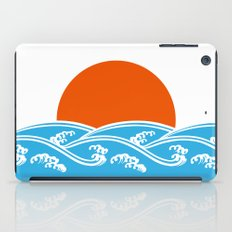 Japanese Tsunami  iPad Case