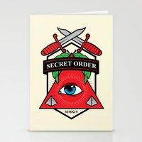 Secret Order Stationery Cards