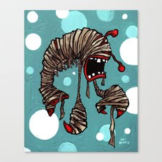 Lobster Mummy! Canvas Print
