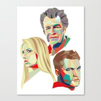 Walter, Peter, Olivia Canvas Print